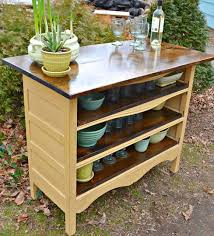 my desk has no drawers fantastic idea for repurposing an old dresser with no drawers heir