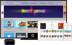 how to enable automatic downloads for apple tv apps