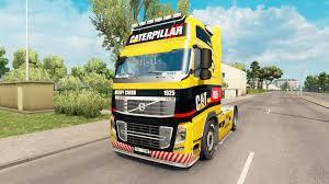 volvo truck 2017 1925 caterpillar skin for volvo truck for euro truck simulator 2