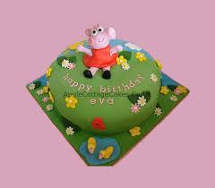 peppa pig cakes peppa pig cake apple cottage cakes