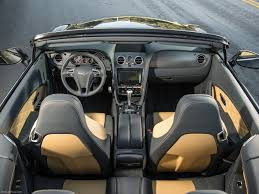 bentley convertible interior bentley continental gt speed convertible 2014 picture 94 of 127