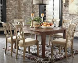 Dining Room Furniture Oak Rustic Dining Table Power The Kitchen To An Interesting Place
