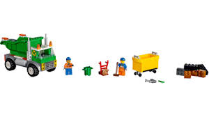 minecraft dump truck garbage truck 10680 juniors building instructions com