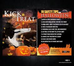 halloween safety tips kick or treat safety tips halloween card 2e muscle