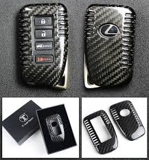 2010 lexus key fob cover luxury carbon fiber protective hard key case cover for lexus