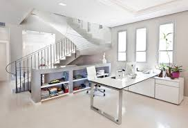 White Home Office Desks 16 White Home Office Furniture Designs Ideas Plans Design