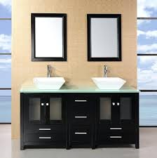 double bowl sink vanity narrow vessel sink vanity cad75 com