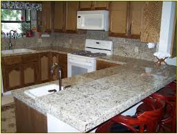 glass tile backsplash with granite countertops home design ideas
