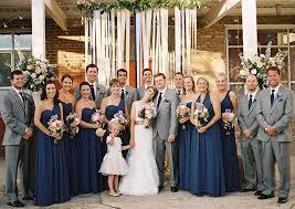 dusty blue bridesmaid dresses and gray men suits u2013 budget