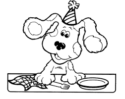 blues clues coloring page contegri com