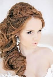 id e coiffure pour mariage coiffure mariage boucle sur le cote les tendances mode du