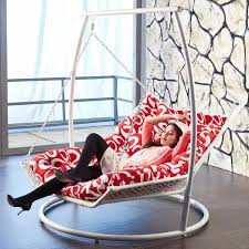 modern style hammock swing chair ideas for indoor setting