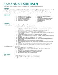 resume sle entry level hr assistants salaries and wages meaning best hr coordinator resume exle livecareer