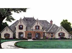 French Country European House Plans French Country House Plan With 3423 Square Feet And 4 Bedrooms