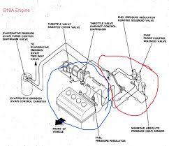 b18a1 vacuum line routing obd 0 and obd 1 honda tech honda