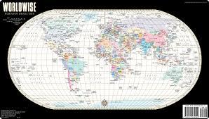 Streetwise Maps Streetwise World Map Laminated Map Of The World Worldwise