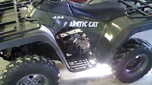 lot 1259a 2004 arctic cat 400 4x4 atv mrp automatic act straight