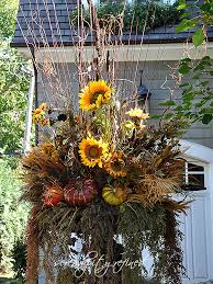 Outdoor Planter Ideas by Fall Urn Planter By Serendipity Refined Autumn Pinterest