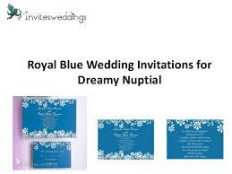 Royal Blue Wedding Invitations Royal Blue Wedding Invitations For Dreamy Nuptial