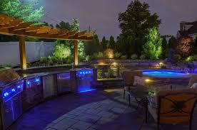 Landscape Lighting Design Northern NJ Outdoor Living - Backyard lighting design