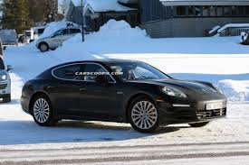 panamera porsche 2014 best spy shots yet of 2014 porsche panamera facelift with minimal