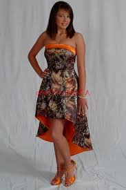 mossy oak camouflage prom dresses for sale bright orange and camo prom dresses naf dresses