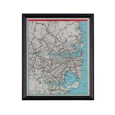 Cherry Blossom Map Oulton Artline Sydney Map