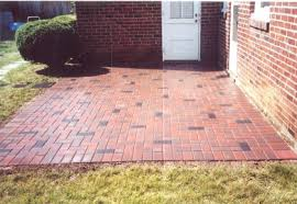 Herringbone Brick Patio Photos Of Ep Henry Paver Projects Showing Different Color