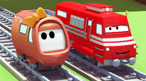 troy the train and the little train u0027s accident in train town