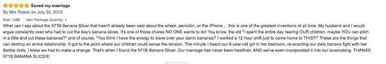 Banana Slicer Meme - these banana slice reviews are brilliant 9 hd photos thechive