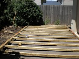 Wood Patio Deck Designs Build Wood Deck Concrete Patio Wood Patio Decks Designs