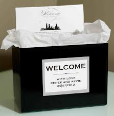 welcome baskets for wedding guests wedding welcome bags how you should pack yours inside weddings