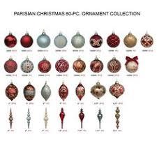 parisian 60 pc ornament collection frontgate 349