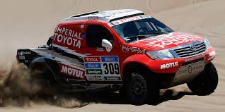 toyota rally car top ten cars of the 2015 dakar rally