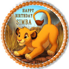 lion king cake toppers lion king simba edible cake topper cupcake toppers edible
