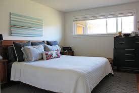 White Painted Headboard by Bedroom Contemporary Bedroom View With White Marble Floor Under