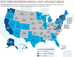 average rent cost this is the hourly wage you need to afford a 2 bedroom apartment