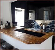 plan de travail de cuisine sur mesure plan de travail cuisine sur mesure bois maison françois fabie