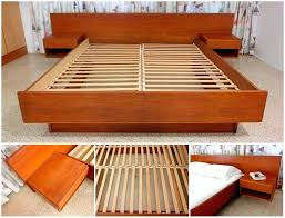Bed Frame Plans Floating Bed Frame Plans Bed Frame Katalog 58134b951cfc