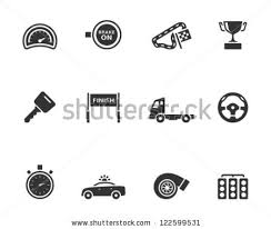 racing icon series in single color style f1 pinterest icons