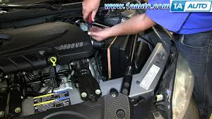 how to install replace engine air filter 2006 2013 chevy impala v6