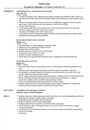 sle of latest resume format sle maintenance resume janitor combination technician sles