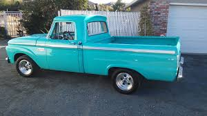 buildup a glorious 1965 ford f 100 2wd short bed ford trucks com
