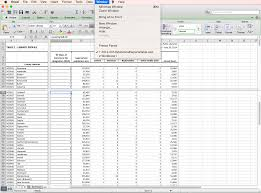 Mac Spreadsheet Program Inls161 001 Spring 2017 Information Tools Setting Up A