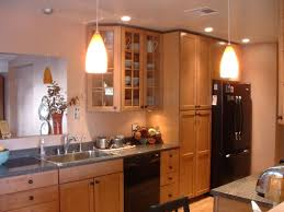 counter kitchen designs hanging lights amazing unique shaped home