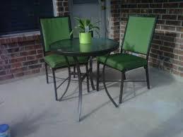 Walmart Outdoor Furniture Sets by Mainstays Crossman 3 Piece Outdoor Bistro Set Green Seats 2