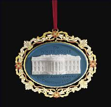 2000 the white house historical association ornament