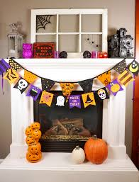 how to make a halloween banner felt halloween banner happiness is homemade