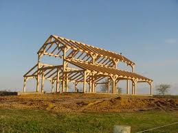 Timber Frame Barn Homes Rafter H Ranch Zuber Construction