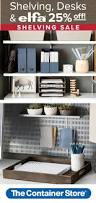 Container Store Bookcase 105 Best Elfa Office Images On Pinterest Container Store Home
